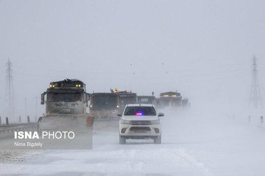 آخرین وضعیت جادههای کشور/ تداوم بارش برف و باران