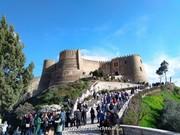 ۷۵ هزار نفر گردشگر نوروزی از قلعه تاریخی فلکالافلاک خرمآباد بازدید کردند