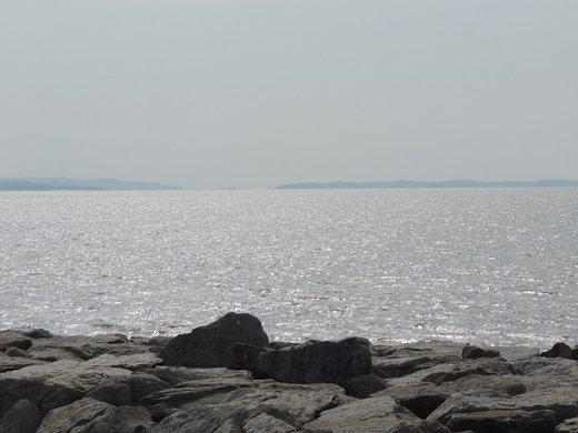افزایش نیم متری تراز آب دریاچه ارومیه طی یکسال