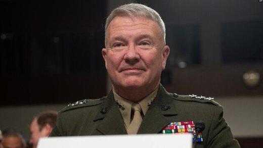 مککنزی، رسما سکان فرماندهی ارتش آمریکا را به دست گرفت