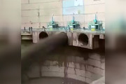 فیلم | بازشدن دریچههای اضطراری سد دز بعد از ۵۰ سال
