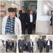 بازدید سر زده رئیس سازمان جهاد کشاورزی استان از مراکز خدمات کشاورزی/ تاکید بر مبارزه با علفهای هرز