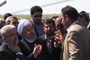 فیلم | حرفهای بیواسطه کشاورز خوزستانی با رئیس جمهور