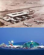 عکس | فرودگاه دبی، الان و ۵۹ سال پیش!