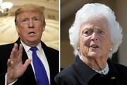 مادر جرج بوش: ترامپ طمعکار، خودخواه و زشت است