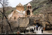 تصاویر | کلیسای سنگی سنتاستپانوس مقصد ۲۳۰۰۰ گردشگر نوروزی