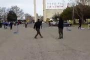 فیلم | تفریحات ویژه تماشاگران دربی در محوطه استادیوم