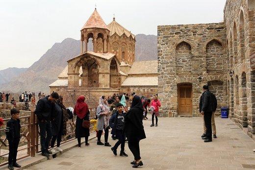 بازدید گردشگران از اماکن تاریخی آذربایجانشرقی ۱۷ درصد افزایش یافت