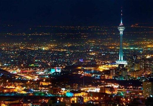 خاموشی بلندترین برج ایران در «ساعت زمین»