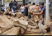 تصاویر | کمک شیرازیها برای شستشوی فرش سیلزدهها