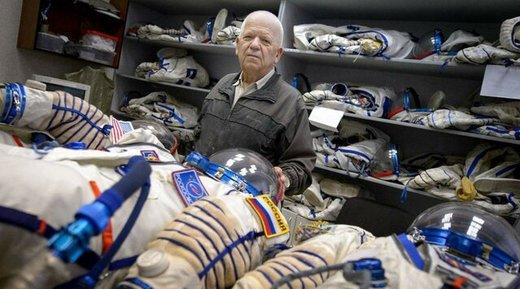 انبار لباس فضانوردان روسیه کجاست؟