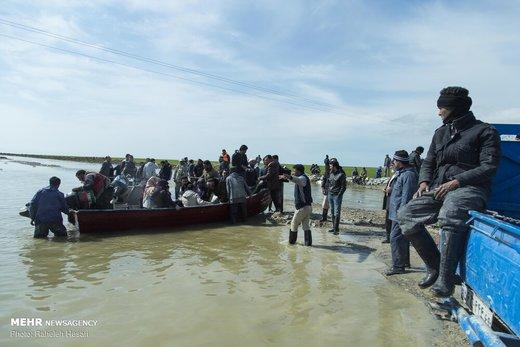 سیلاب لرستان، جنازه یک مرد را ۳ کیلومتر دورتر برد