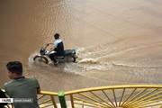 تصاویر | طغیان رودخانه کارون در اهواز