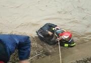 سقوط شهروند قزوینی به داخل رودخانه/ او در حال تماشا بود