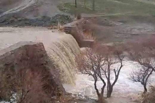 هشدار تخلیه در برخی محلات قزوین به دلیل سیلاب