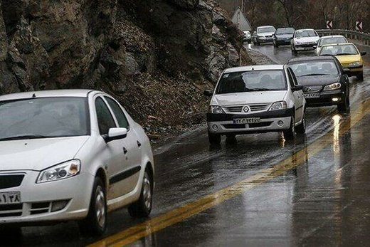 امروز جادههای ۱۵ استان کشور برفی و بارانی است