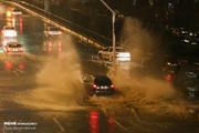 تصاویر   باران با خیابانهای تهران چه کرد؟