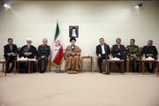 تصاویر | جلسه ویژه بررسی امدادرسانیها به استانهای سیلزده در حضور رهبر انقلاب