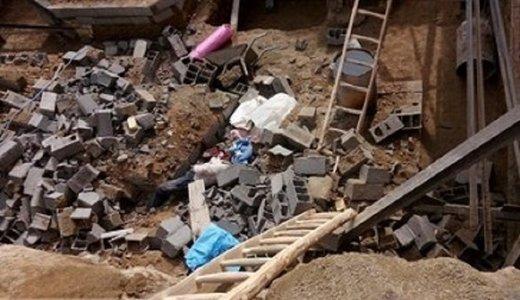 ۲ ملایری زیر آوار ناشی از بارش باران جان باختند