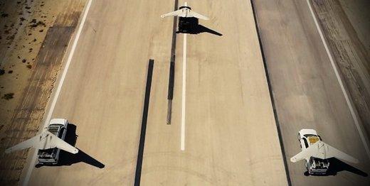 بهکارگیری پهپادهای نیروی هوافضای سپاه برای رصد مناطق سیلزده