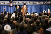 تصاویر | دیدار مردم و مسئولین با رهبر انقلاب به مناسبت عید مبعث