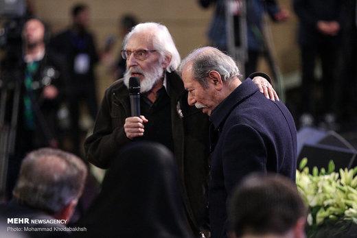 علی نصیریان از رفاقت با جمشید مشایخی میگوید
