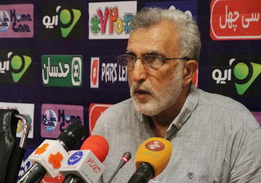 حسین فرکی: حق ما برد مقابل استقلال بود