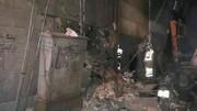 ریزش آوار در بازار آهن تهران یک کشته داشت