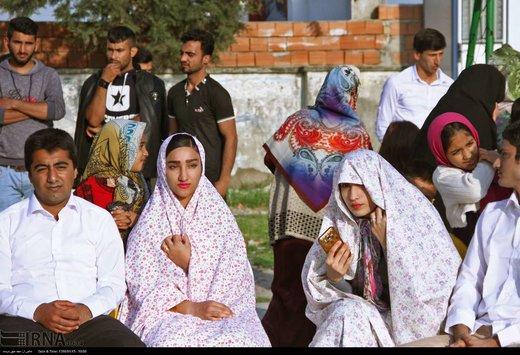 جشن ازدواج 35 زوج سیل زده استان گلستان