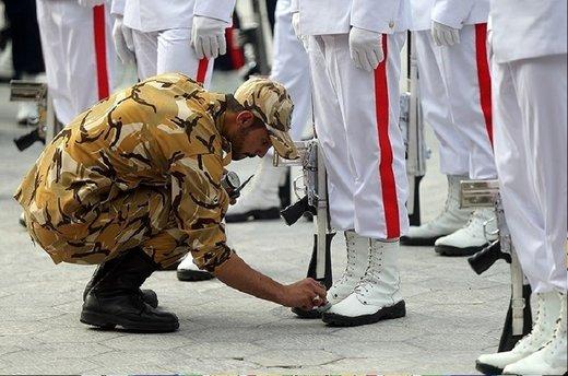 یک ماه مرخصی برای سربازان شاغل در مناطق سیلزده