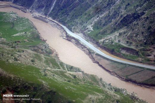 معاون وزیر راه: جاده ۶۰ کیلومتری خرمآباد-پلدختر کاملا تخریب شده