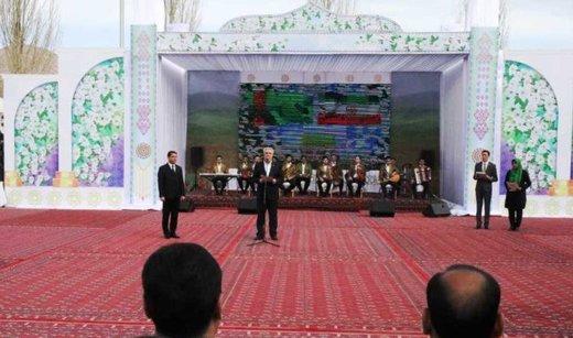 Iran, Turkmenistan hold joint Nowruz rituals