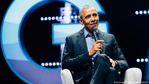 اوباما در سفر به آلمان مورد استقبال مرکل قرار گرفت