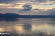 تصاویر   دریاچه ارومیه بعد از بارانهای سیلآسا