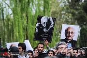 تصاویر | مراسم تشییع پیکر زندهیاد جمشید مشایخی