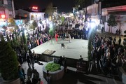 آخرین اجرای تئاترخیابانی شادیهای نوروزی در قالب پروژه تئاتر خیابانی دائم در رشت/ تصاویر