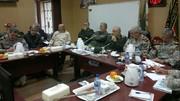 برگزاری جلسه فرماندهی عملیات امدادرسانی نیروهای مسلح به سیلزدگان استان خوزستان