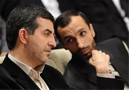 پایان مرخصی نوروزی مشایی و بقایی/ آنها به زندان اوین برگشتند