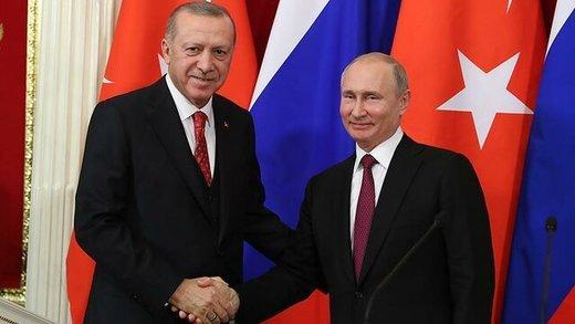 اردوغان و پوتین خروج آمریکا از سوریه را بررسی میکنند