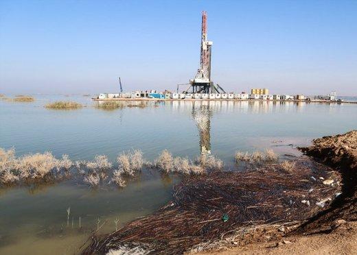 سیل باعث توقف یا افت تولید میدانهای نفتی مشترک با عراق نشد