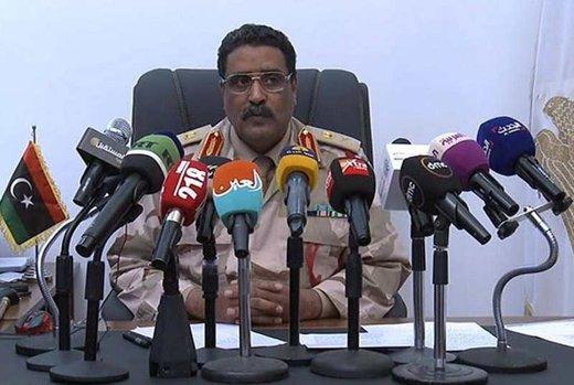 سخنگوی ارتش لیبی از اهداف عملیات طرابلس گفت