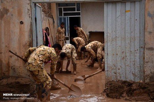امدادرسانی به سیلزدگان پلدختر