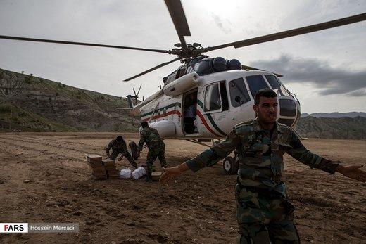 امدادرسانی به مناطق سیلزده معمولان