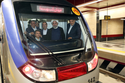 Southern part of Tehran Metro Line 6 opens