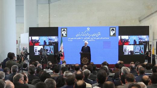 President Rouhani opens Tehran green belt project