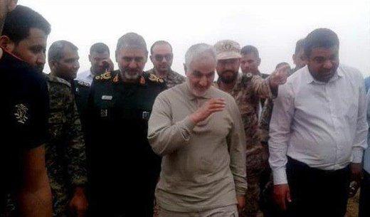 فیلم | گپ و گفت سردار سلیمانی با مردم رفیع به زبان عربی