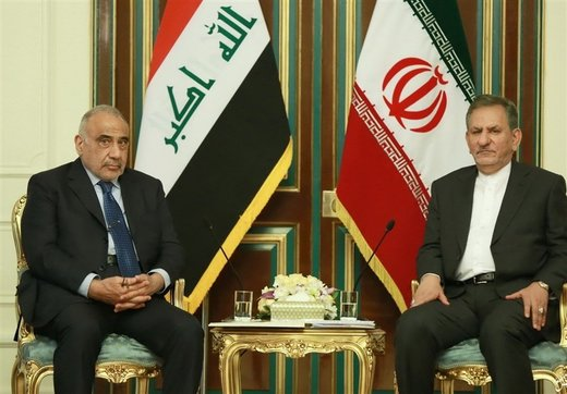 Iran, Iraq keen on developing bilateral ties: First VP