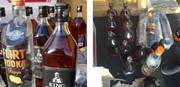 تصاویر | کشف محموله بزرگ مشروبات الکلی در گمرک