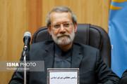 لاریجانی: موضوع فلسطین نباید مورد غفلت کشورهای اسلامی قرار گیرد