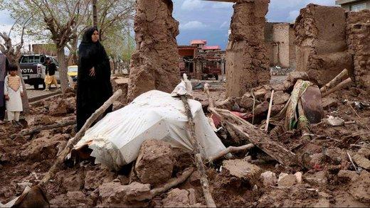سیل در افغانستان ۱۴۷ تن را به کام مرگ کشاند/ ۱۶۳ هزار نفر در معرض آسیب